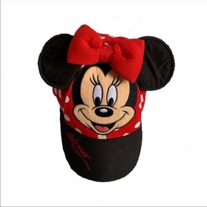 Minnie Mouse baseball hat Disney authentic